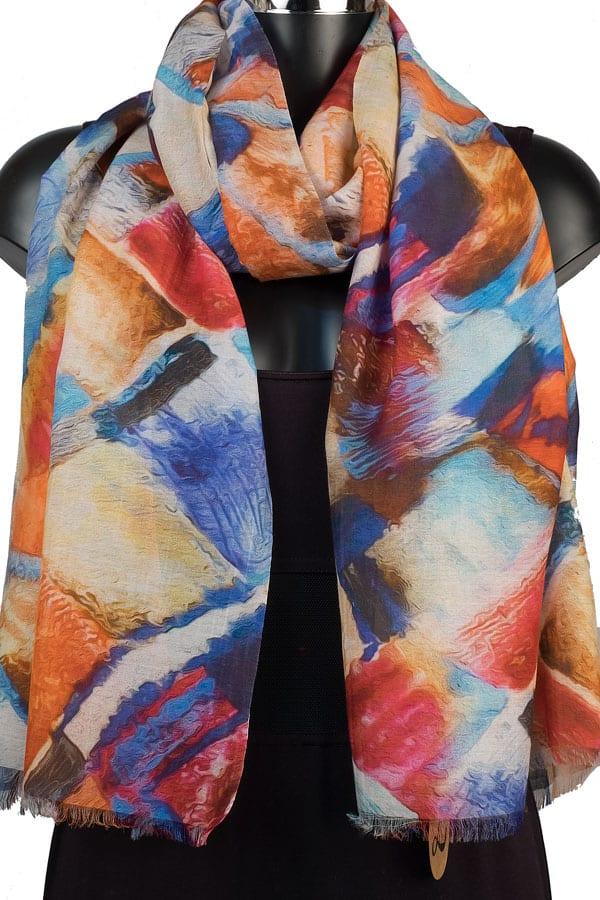 York Scarves Silk Modal Pashmina YSD12/2
