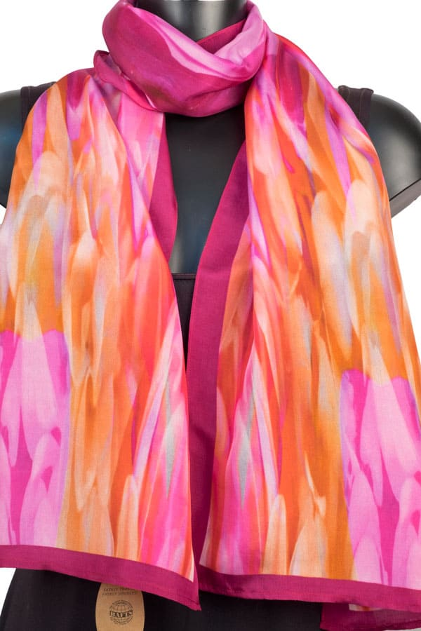 York Scarves Silk Scarf YSD15