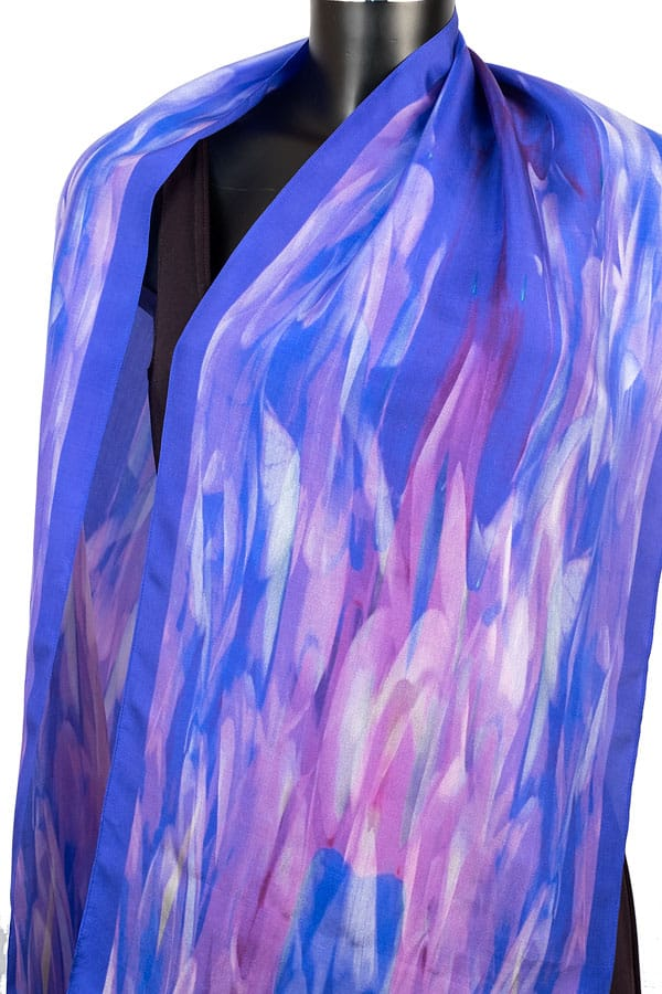 York Scarves Habotai Silk Scarf YSD15/1