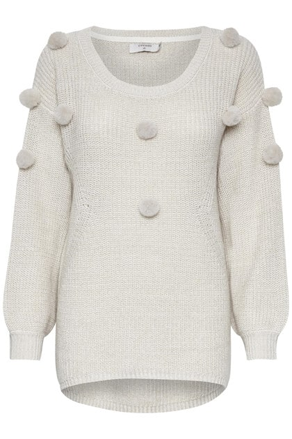 CREAM CLOTHING Delisa pullover BIRCH