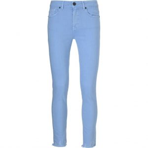 Pieszak Diva Cropped in Dusty light blue