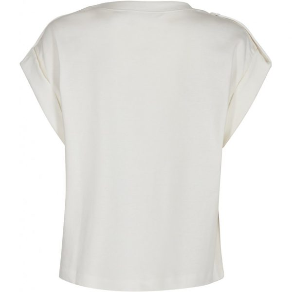 Pieszak Ellen Swan Uniform Top in Creme