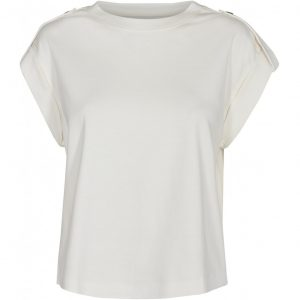 Pieszak Ellen Swan Uniform Top in Creme