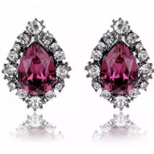 Gretta pink stud earrings betty and biddy