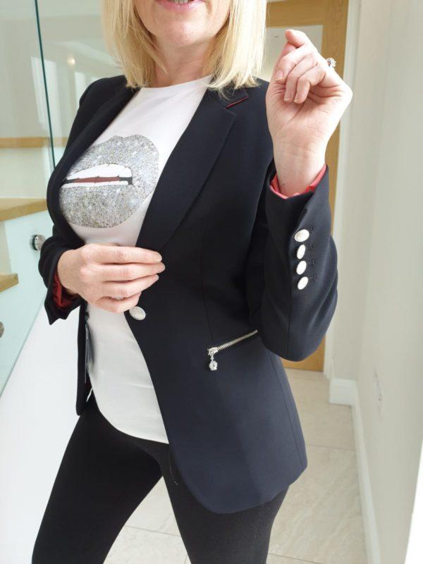 Bariloche Tudela Tailored Black Blazer