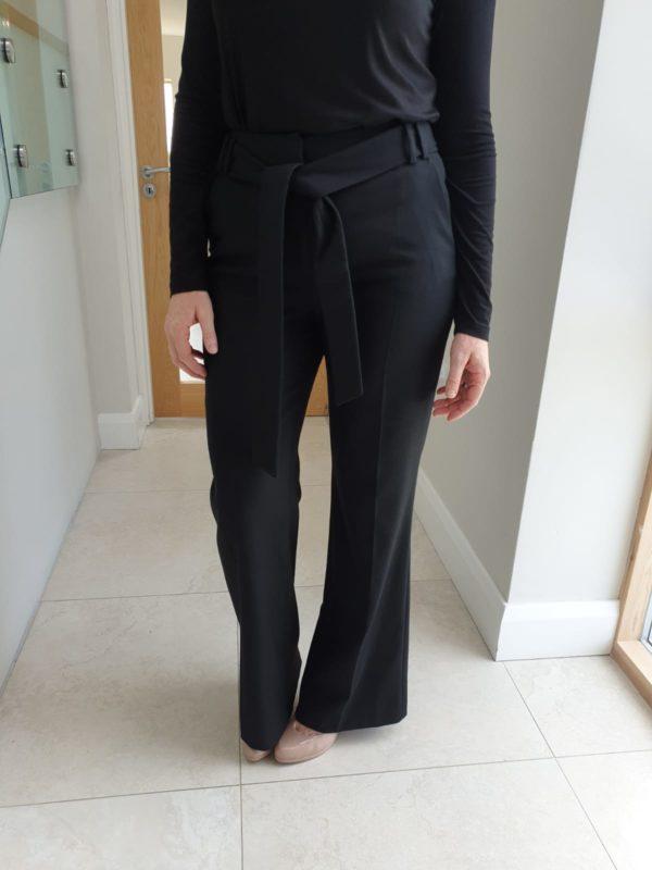 Perspective Biana Black Wide Leg Pants