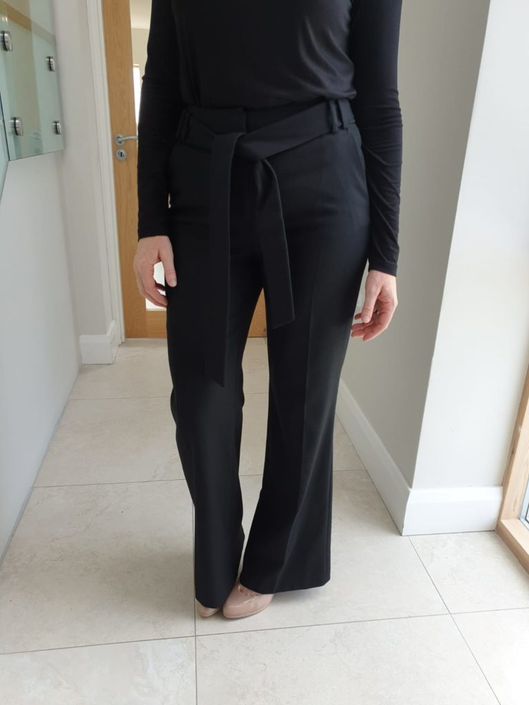 Perspective Biana Black Wide Leg Pants
