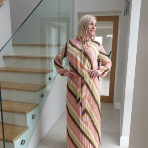 Soaked in Luxury SXAnja Maxi Dress LS