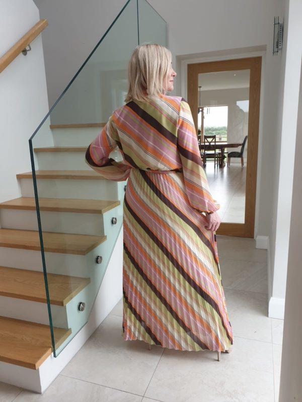 Soaked in Luxury SXAnja Maxi Dress LS