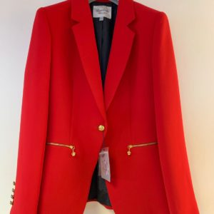 Bariloche Tudela Tailored Red Blazer