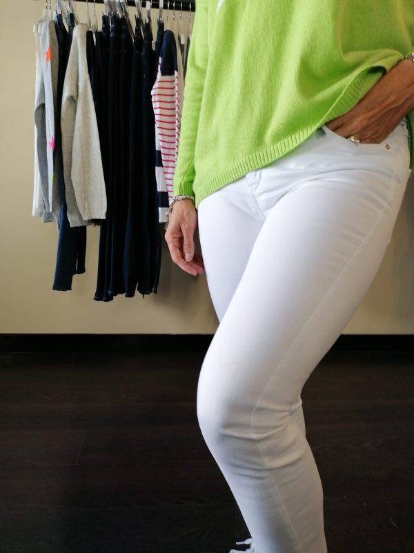 Bariloche Uganda White Jeans