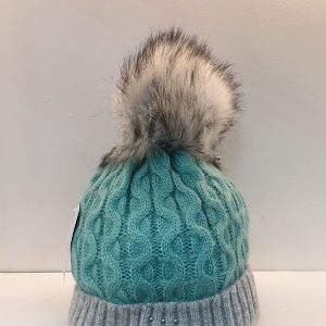 Perfect Hats Olga Two Tone Teal Grey