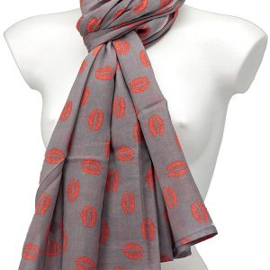 York Scarves Extra Large Cotton Scarf Flint Pink YS1013