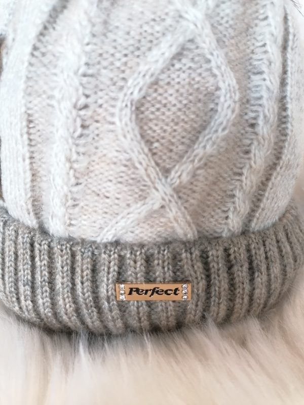 Perfect Hats Two Tone Beige