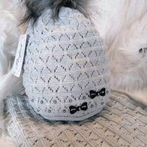 Perfect Hats Grey & Snood Set