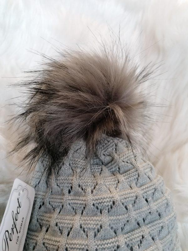 Perfect Hats Grey & Snood Set