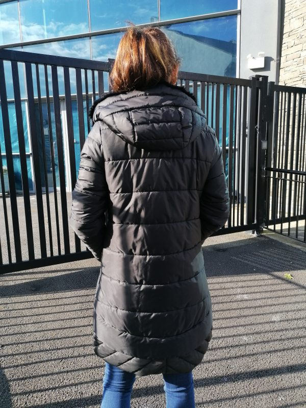 Perspective Kaylor Monte Black Puff Coat