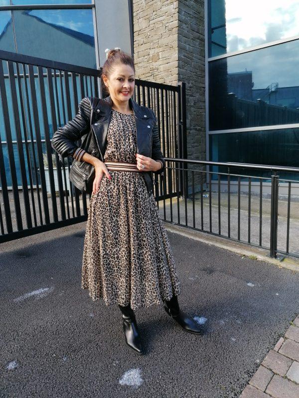 Luella Erica Leopard Dress