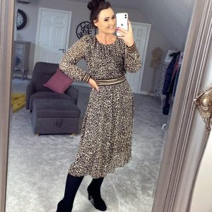Luella Erica Leopard Dress