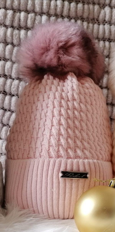 Perfect Pink Pom Pom Hat