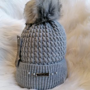 Perfect Hats in Mid Grey
