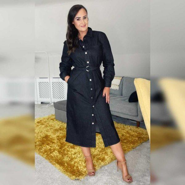 Soaked In Luxury SLEmely Dress Black
