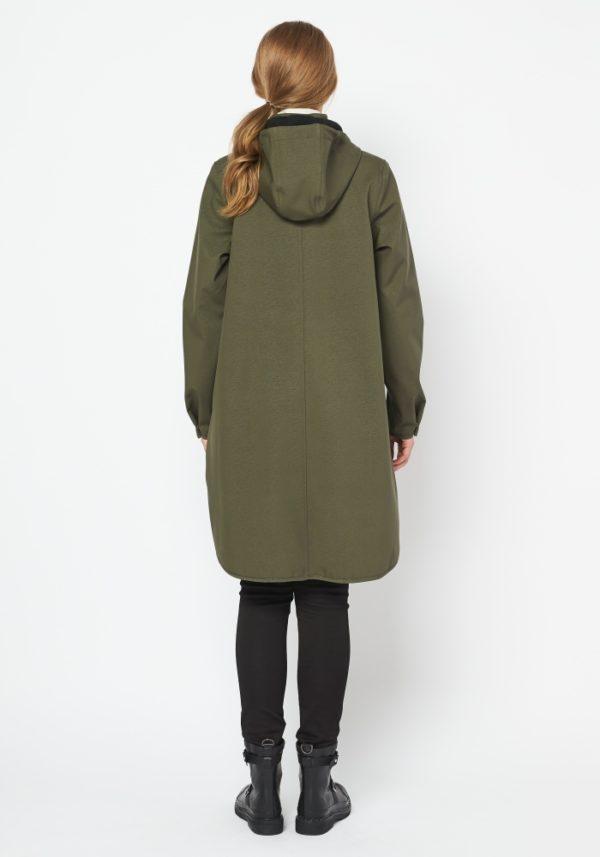 Ilse Jacobsen Raincoat 128 Army Green