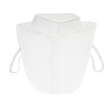 Buttons and Dote White Jane Bib Collar