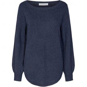 Kira Boatneck Knit Knitwear C233837 534 Blue Melange 1024x1024 300x300