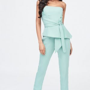 Lavish Alice Origami folded jumpsuit in sage