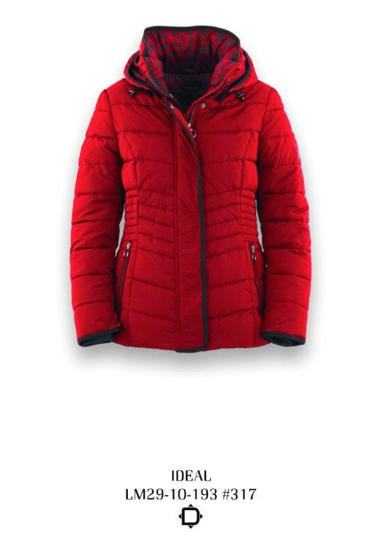 District Red Ideal Quilted Jacket