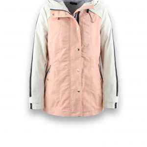 District Lava Jacket in Light Rose