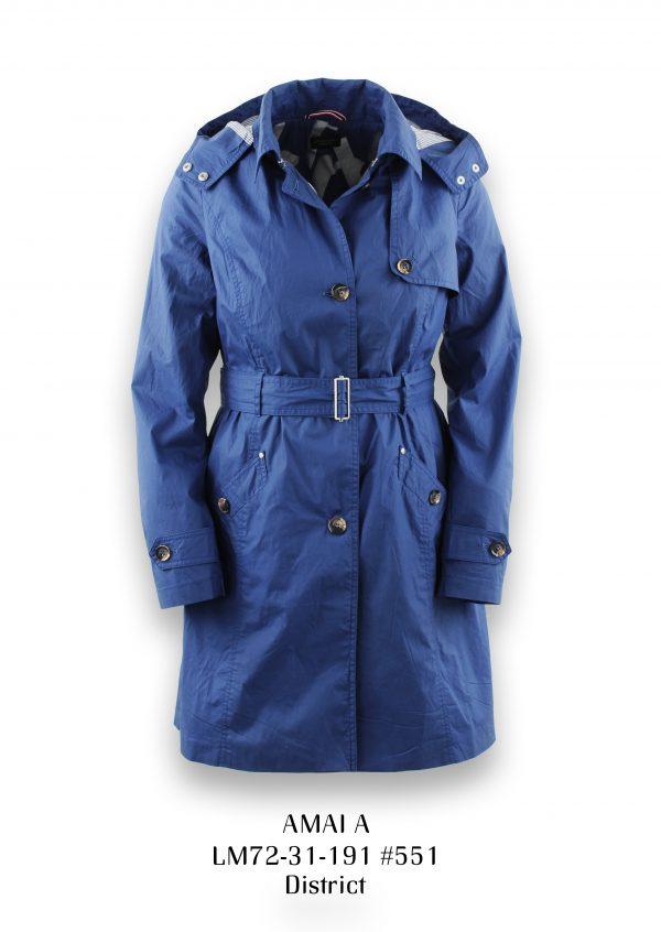 District Amai Jacket In Ozon Blue