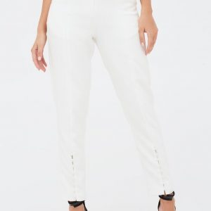 Lavish Alice button detail Trousers
