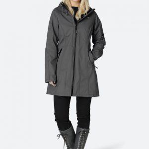Ilse jacobsen Raincoat Rain 37 Dark Shadow