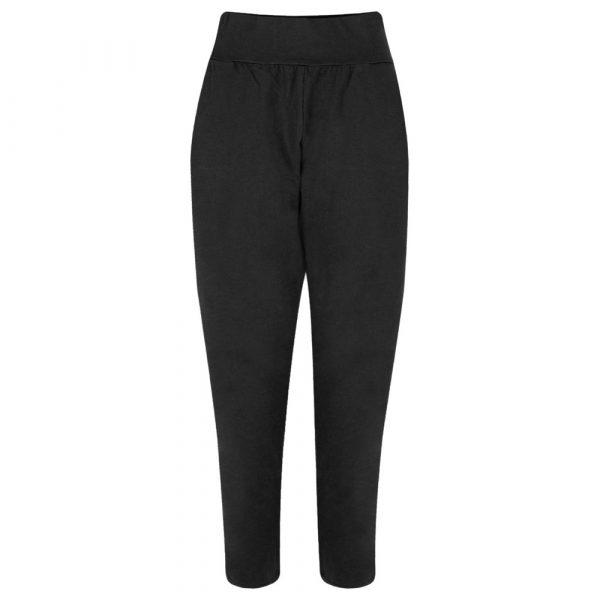 Chalk Robyn Jersey Pants in Black