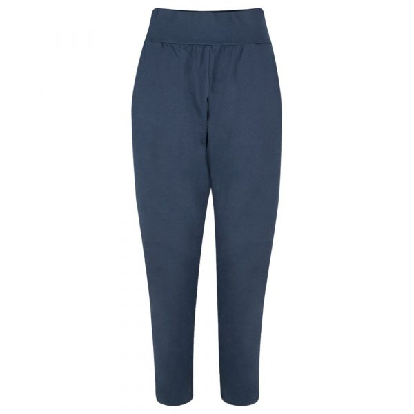 Chalk Robyn Jersey Pants in Navy