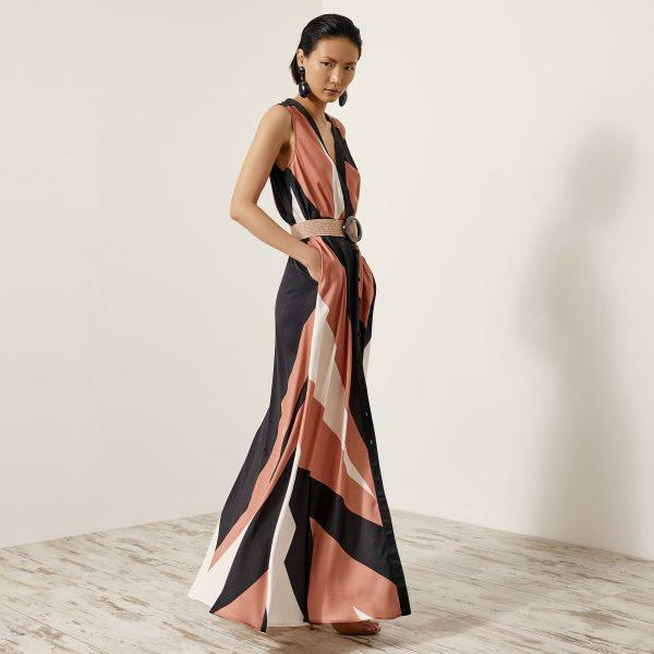 Access Fashion Terracotta Printed Shirt Dress