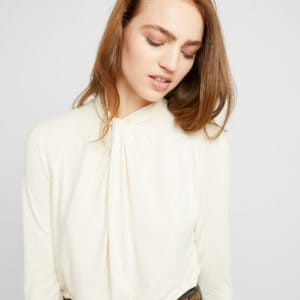 Soaked in Luxury Liliana LS Top Antique White