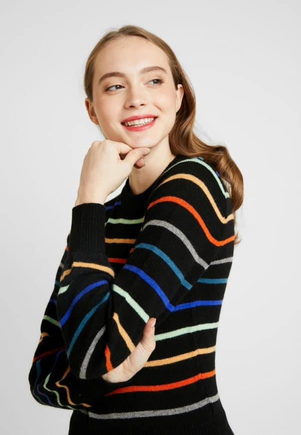 Soaked and Luxury Lisa Stripped Pullover