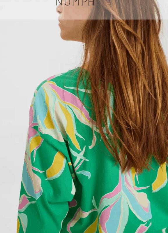 NÜMPH Nubrighed Blouse - Lilac Breeze