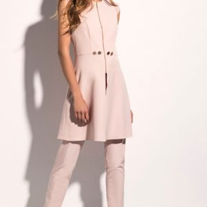 Laura Bernal Blush 2 piece trouser suit