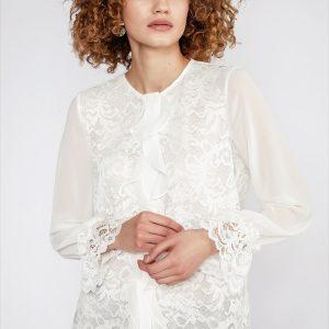 Perspective Clothing Gais Lace Shirt
