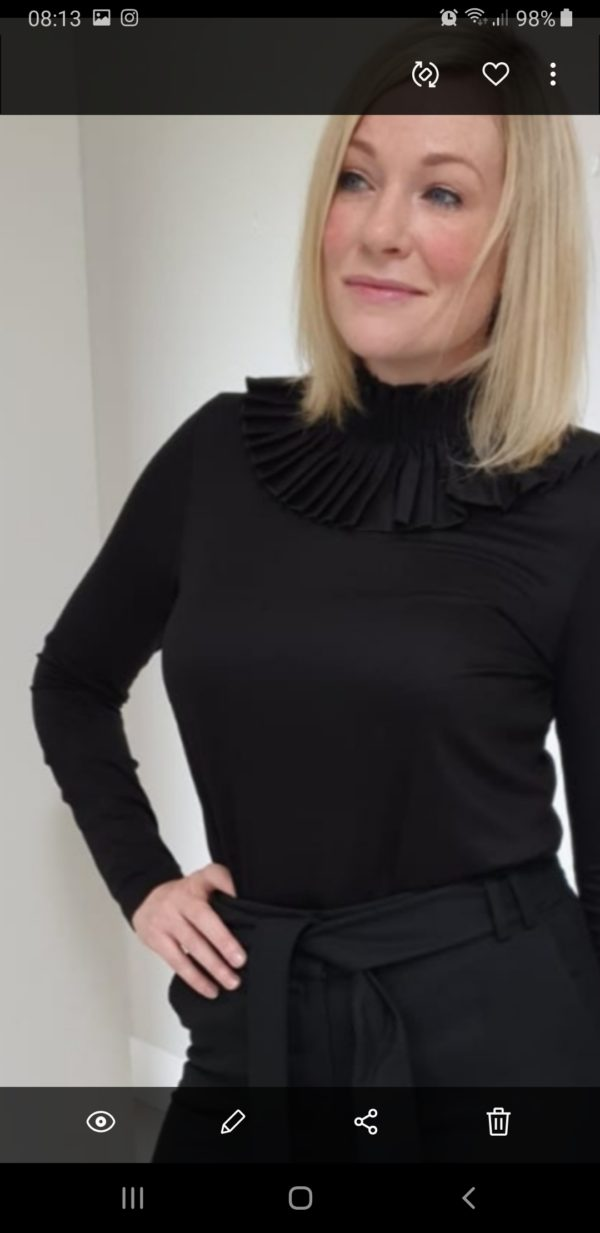 Perspective Day Blouse in Black