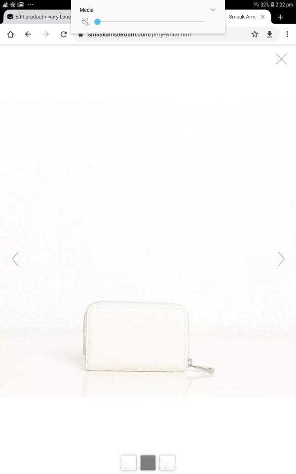 Smaak Amsterdam Jerry wallet white