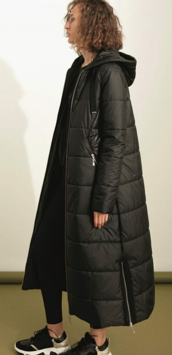 Perspective Victor Mont Padded Black Coat