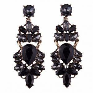 Shea Earrings black betty and biddy