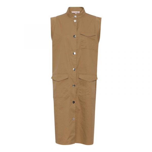 A-View Smilla SL Dress in Beige