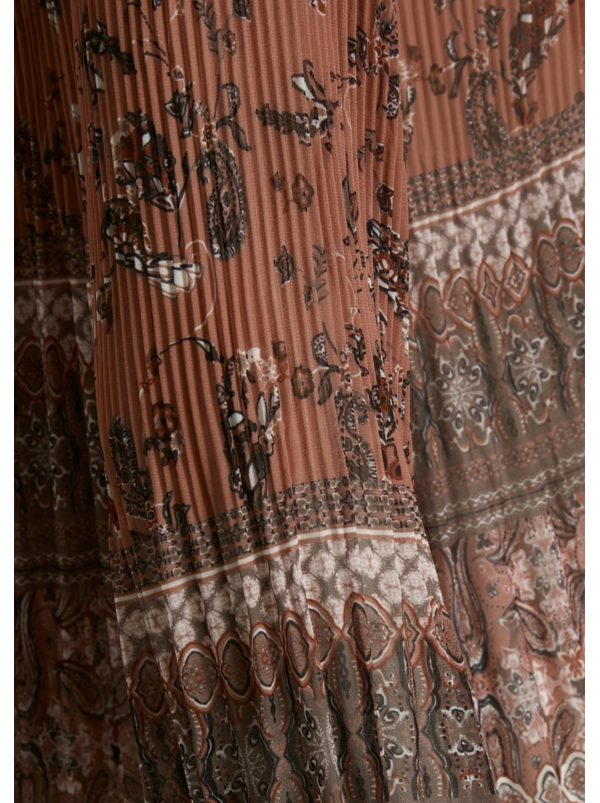 Tara Blouse Dusky Sun Brown