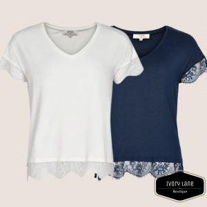 Cream Conellia T-Shirt